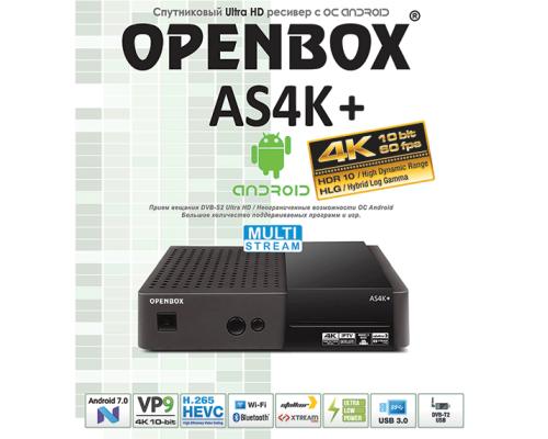 OPENBOX AS4K+